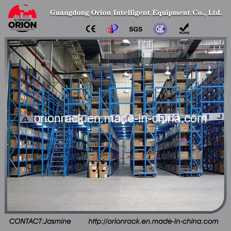 Steel Structure Platform Mezzanine Floor Racking System