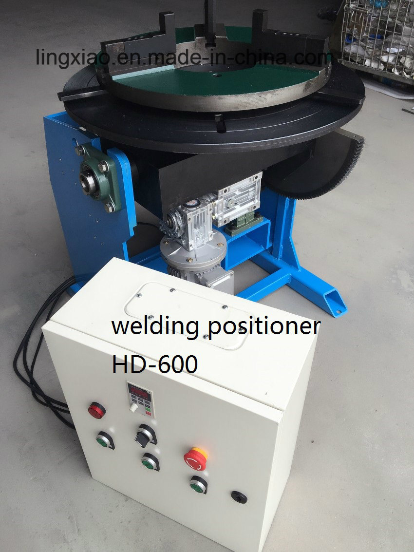 Ce Certified Welding Positioner HD-600 for Pipe Welding