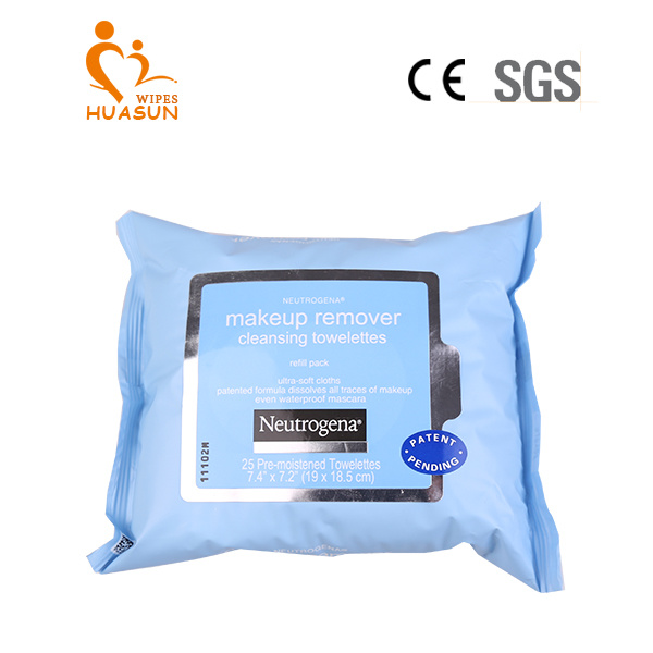 2017 Hot Sale Make up Cleaning Wet Wipes