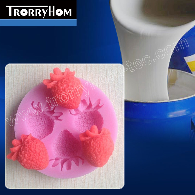 Food Grade Addition Curing Silicone for Baking Cake Molds