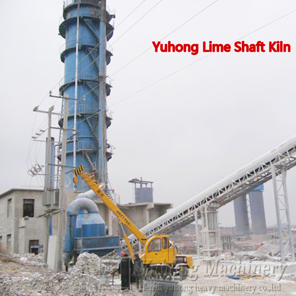 2016 Henan Yuhong Vertical Lime Kiln Low Investment