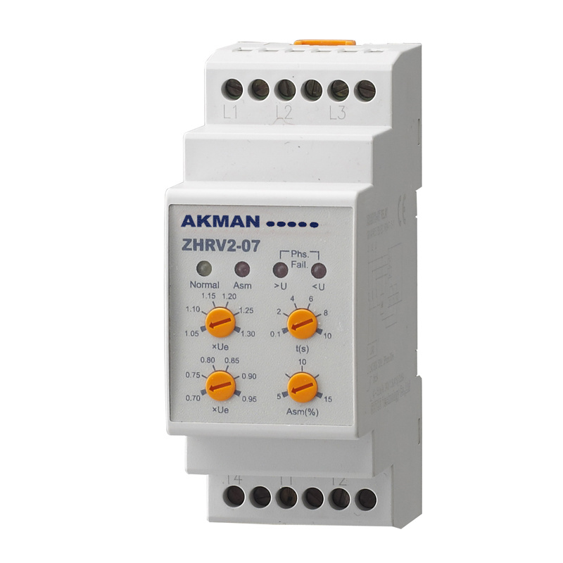 Three Phase AC Voltage Monitoring Relay and Protector