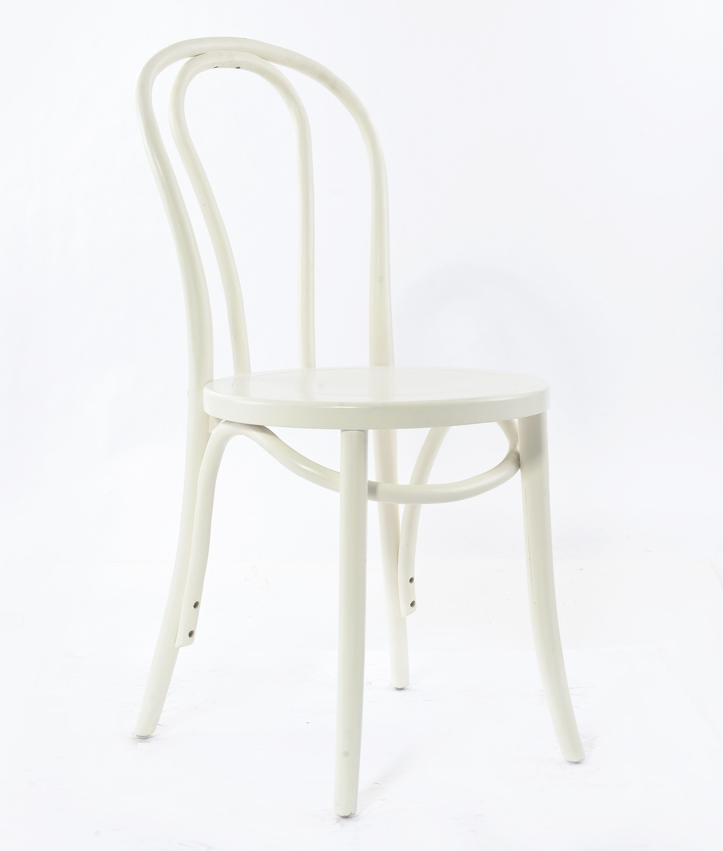 White Thonet Bentwood Chair