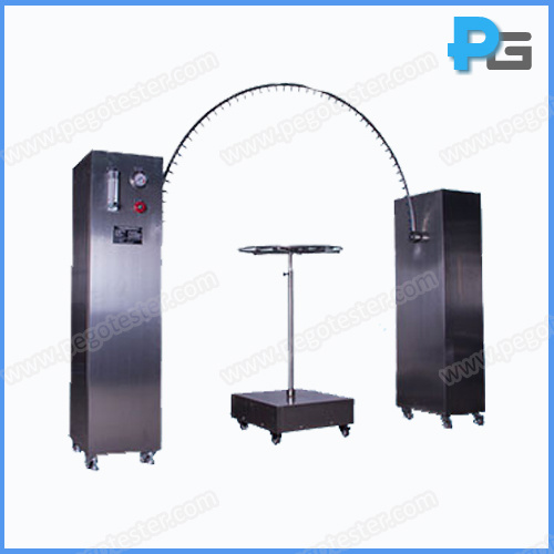 Lab Equipment Ipx3 and Ipx4 Oscillating Tube Raining Test Device