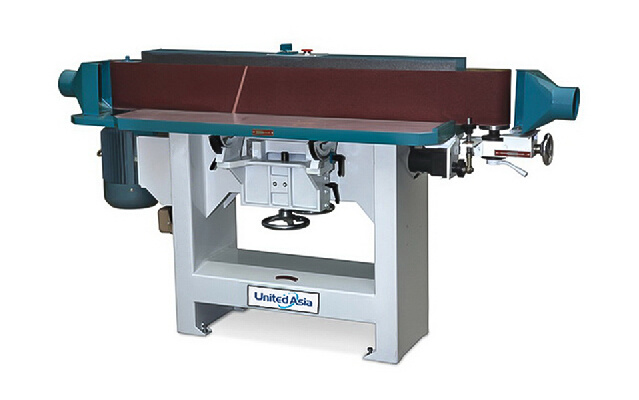 Automatic Woodworking Belt Sander Machine