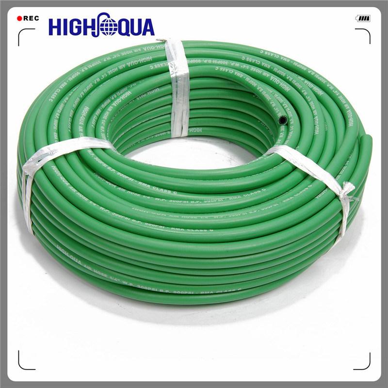 Superior Chinese Fiber Braid Rubber Air Hose, Smooth Surface High Pressure Flexible Air Hose