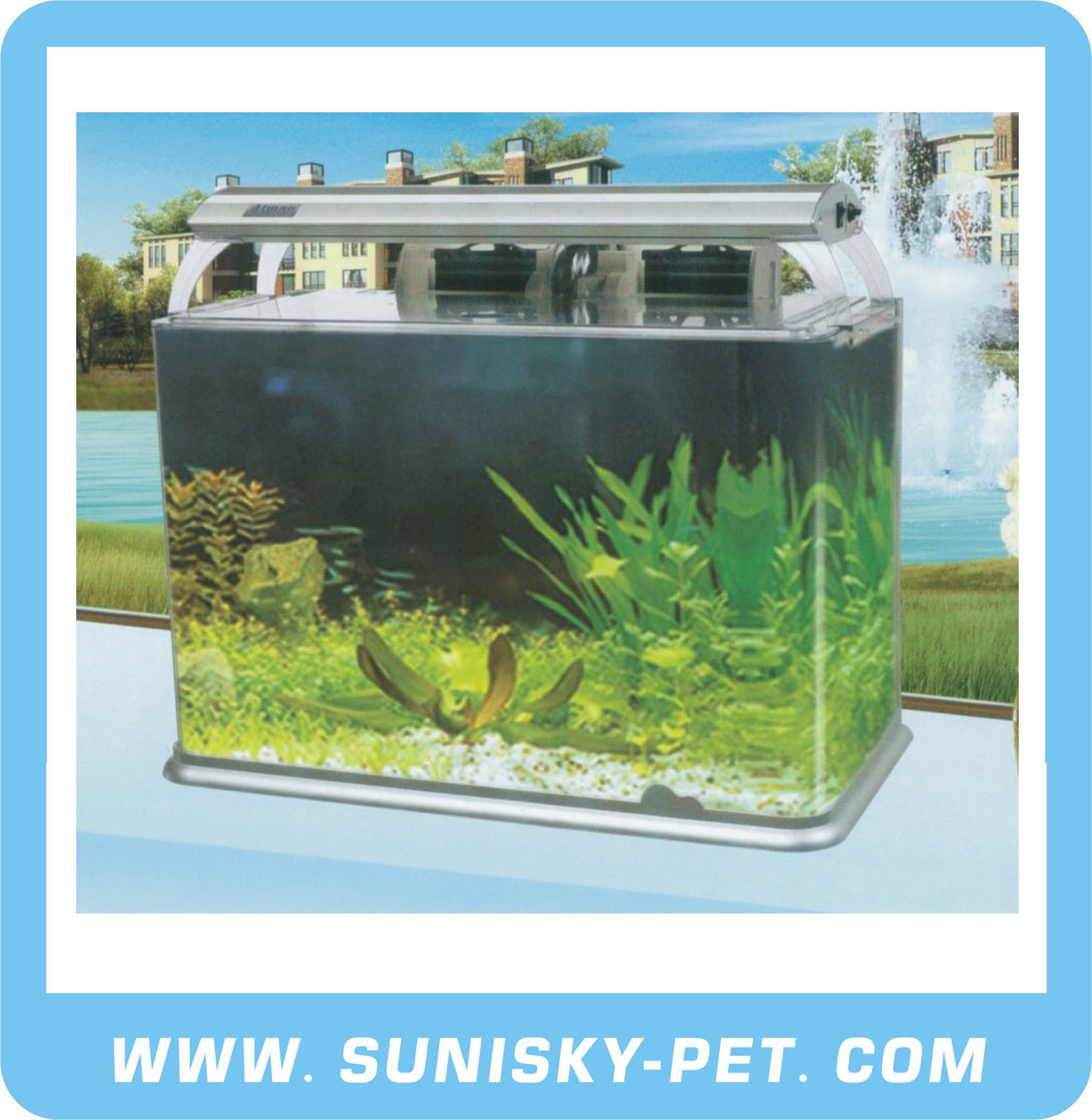 Glass Aquarium Tank (AT Series)