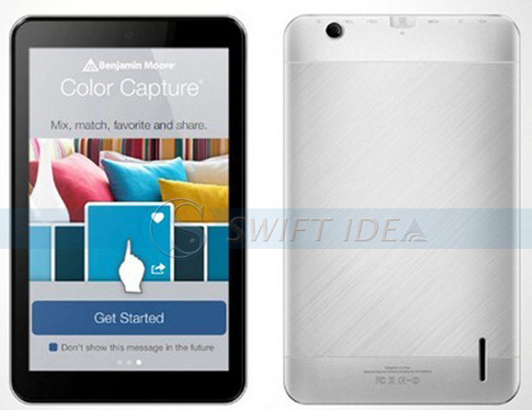 7inch Cheap Dual Core Via8880 Android 4.2 Dual Camera Tablet Pocket PC OEM Sevice Available PVC724A