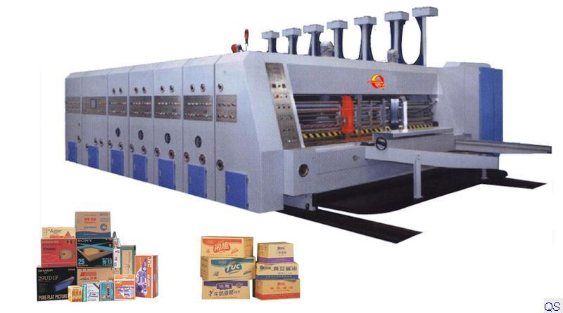 China Automatic Corrugated Carton Box Making Machine