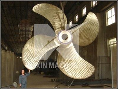 Bronze Propeller with Diameter 7 M