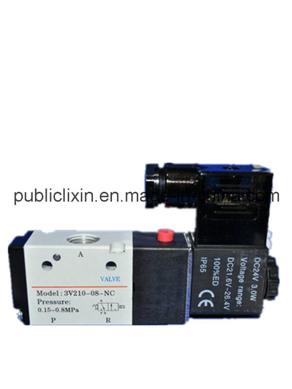 Airtac 3V Pilot-Oriented AC/DC Single Double Solenoid Valve