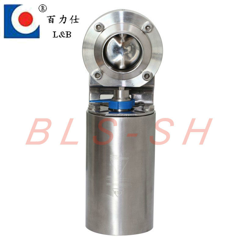 Sanitary Stainless Steel Butterfly Valve (BLS)