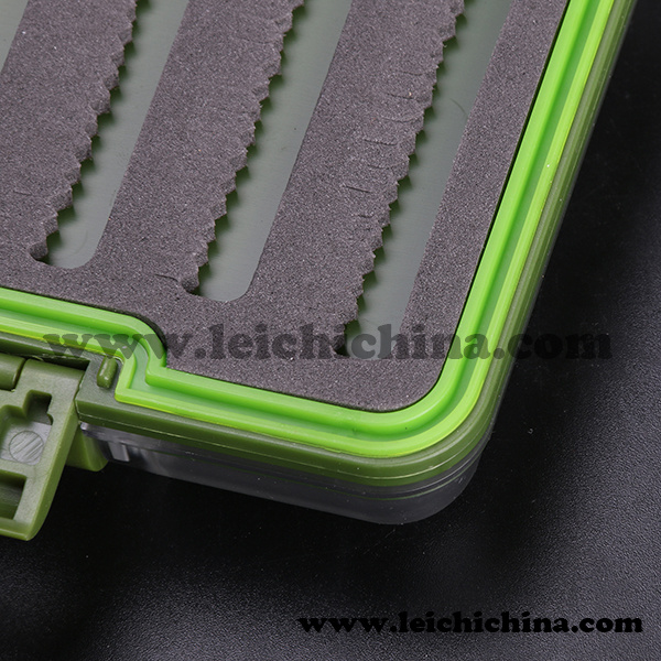 Wholesale Colorful Waterproof Plastic Foam-Inside Fly Fishing Box