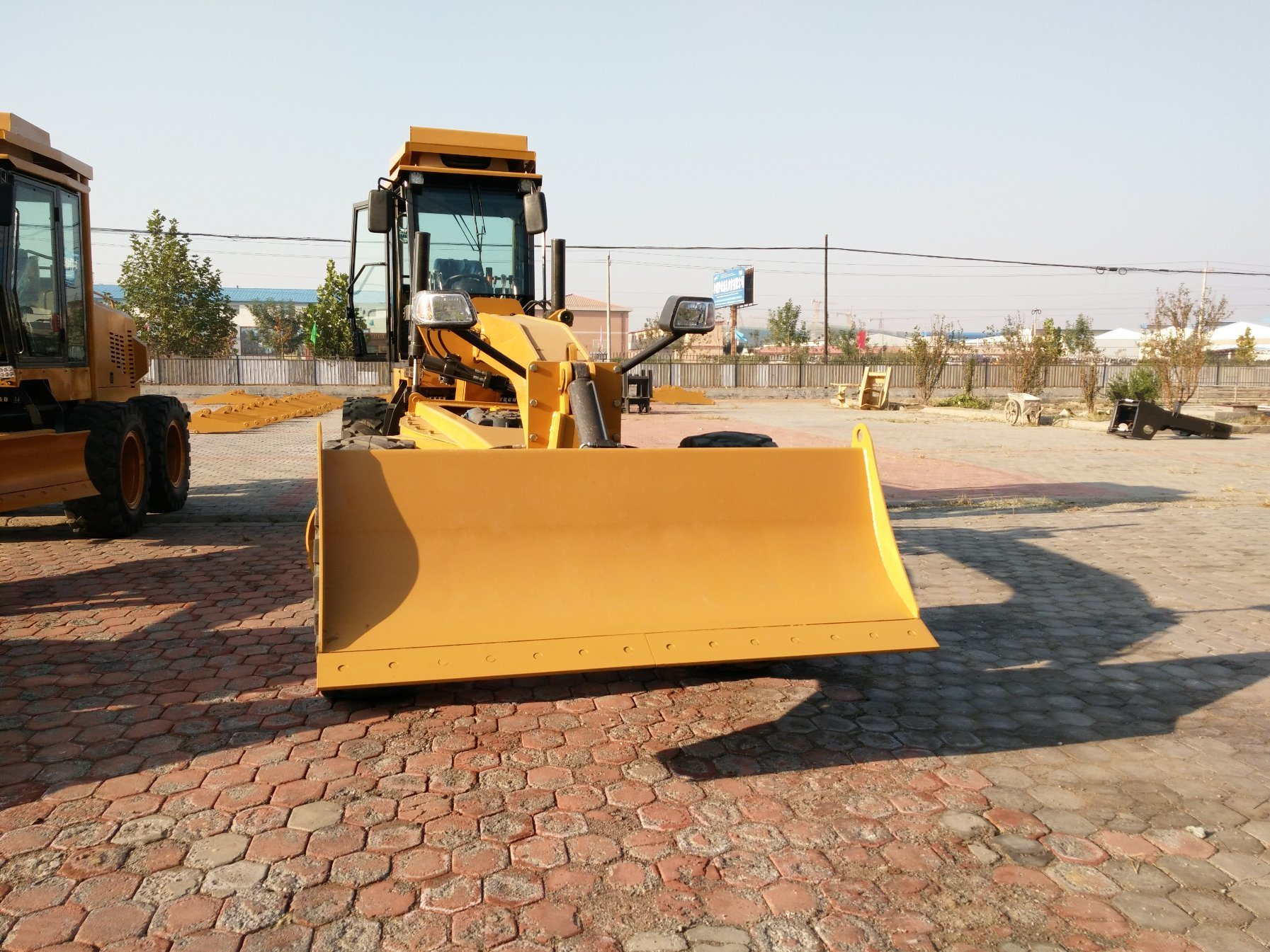 130HP Hydraulic Mini Grader with Front Dozer and Ripper Py9130
