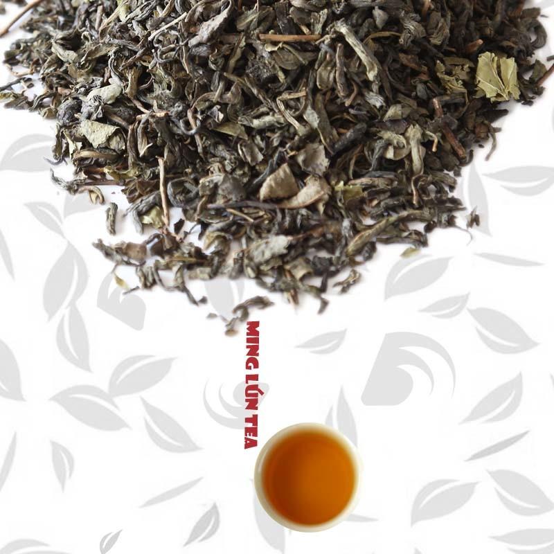 Chinese Green Tea with Mint Aroma Fruit Tea Herbal Tea