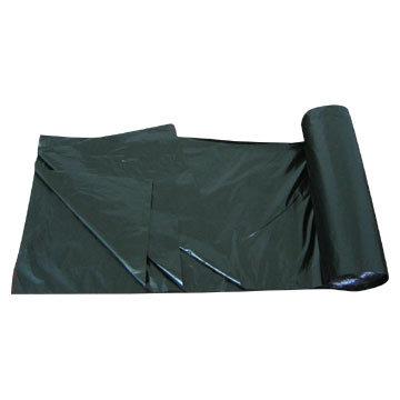LDPE Black Star Seal Heavy Duty Plastic Garbage Bag