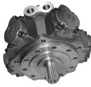 Radial Piston Hydraulic Motor Rated Torque 1800n. M