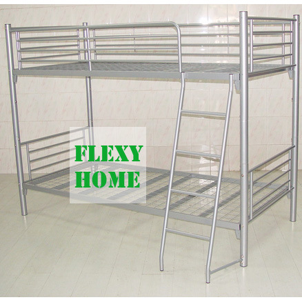 Double Decker Bed : China Double-Decker Bed (MAJ-BBM2) - China bunk bed, metal bed
