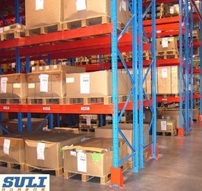 China Warehouse Storage Solution Selective Pallet Racking