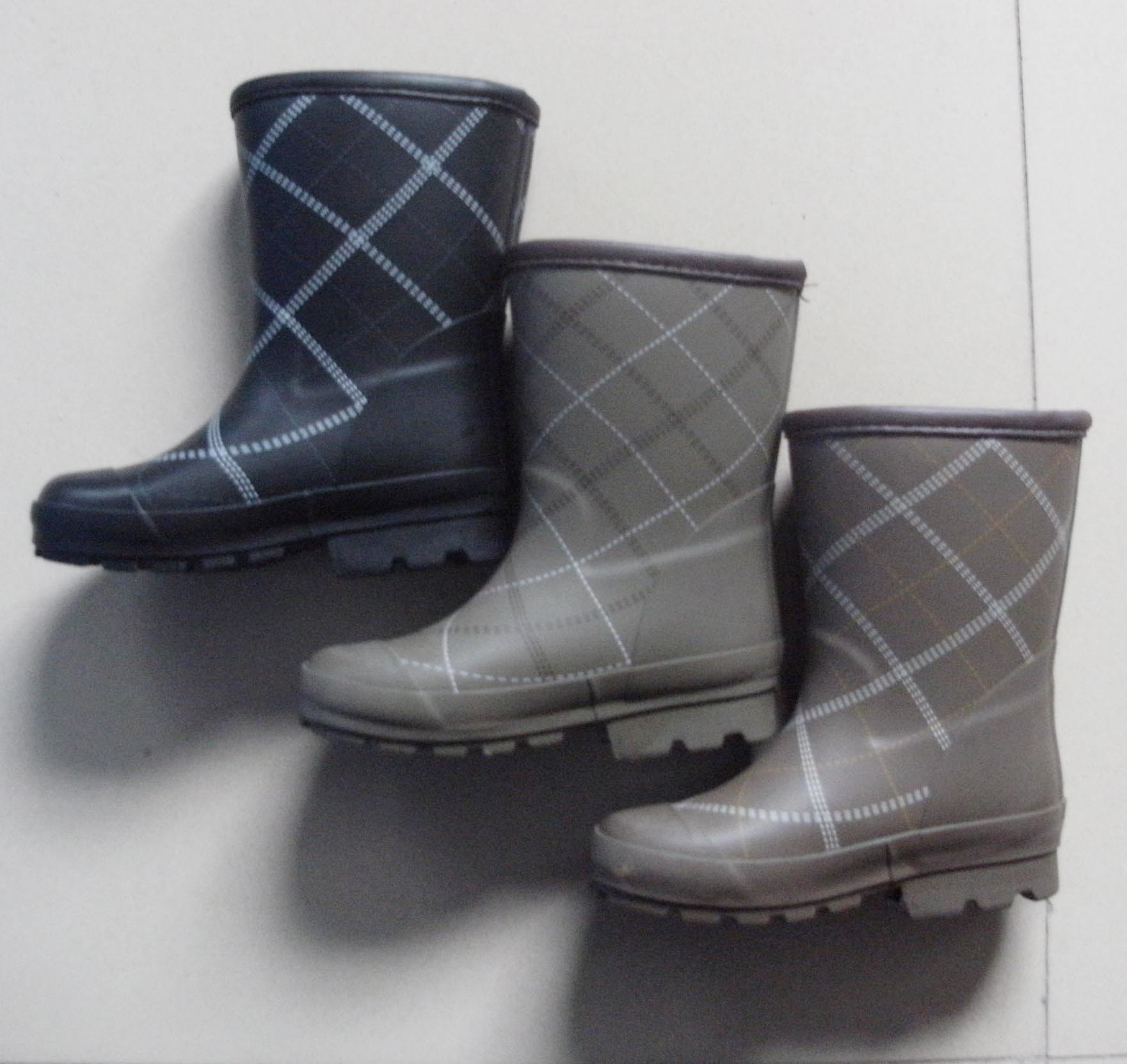 China Funny Kids Rain Shoes (XK003)