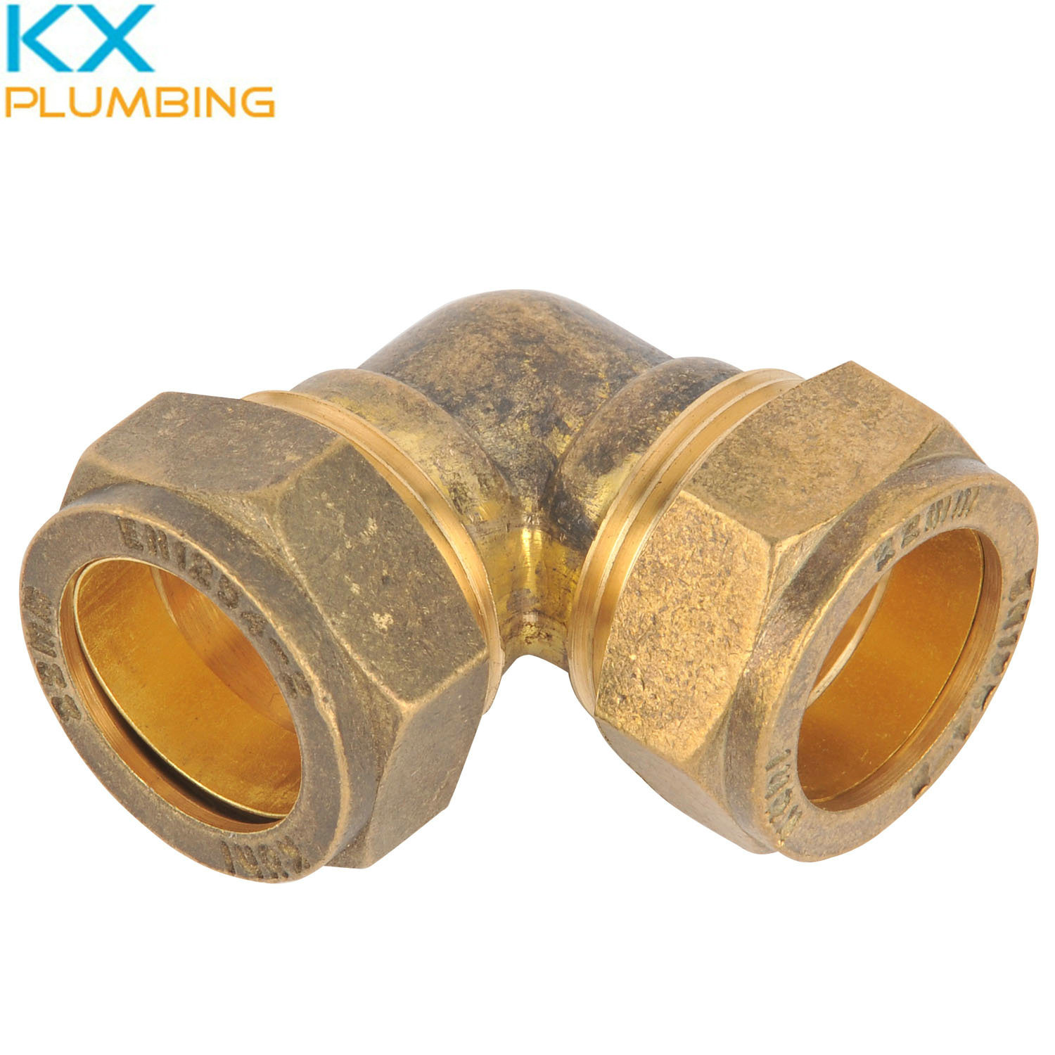 Compression Fitting Elbow 90deg 22mm (KX-BF019)