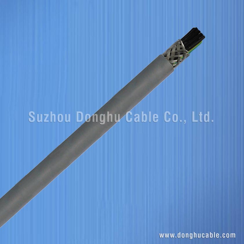 Low-Smoke and Non-Halogen Po Insulation and Sheath Flexible Cable, Screen