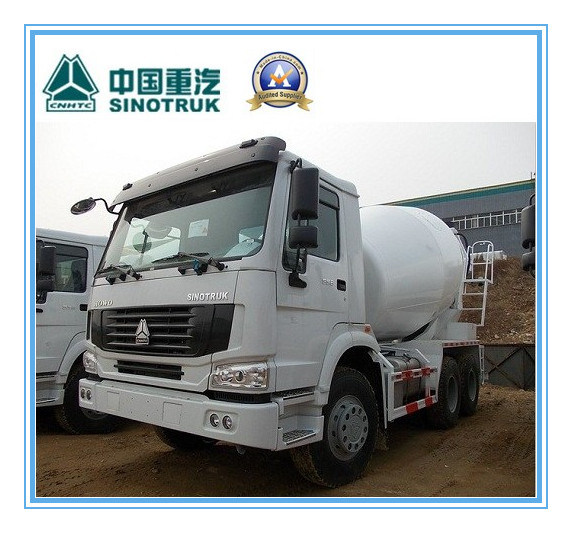 10 M3 Sinotruk/Cnhtc HOWO 8 X 4 Heavy Duty Cement / Concrete Mixer Tank Truck 336HP