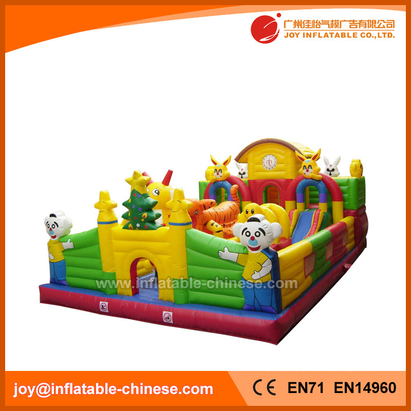 Inflatable Bouncy Toy Giant Inflatable Jumping Bouncer for Sale (T6-001)