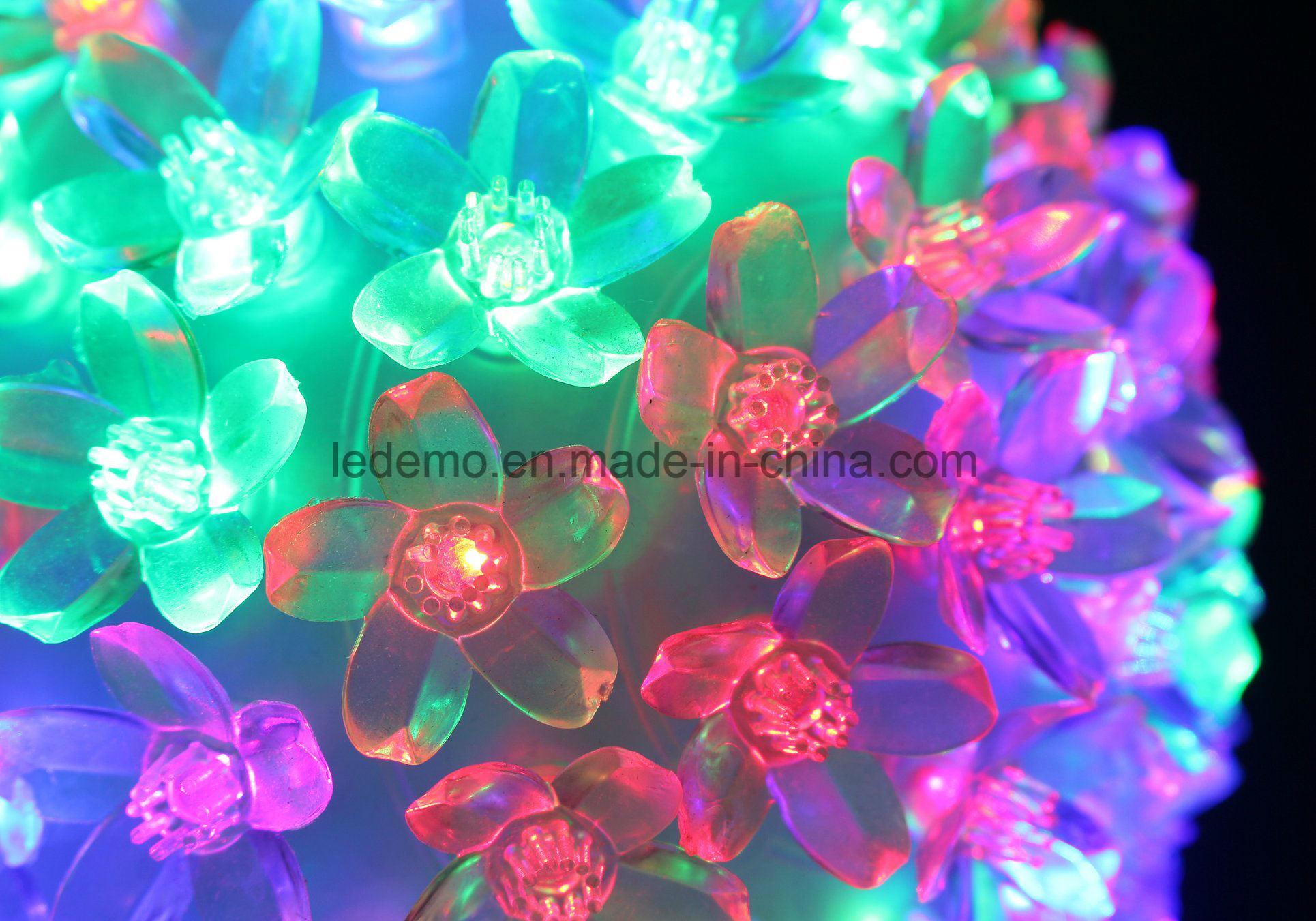 LED Decoration Multicolor Flower Ball Light