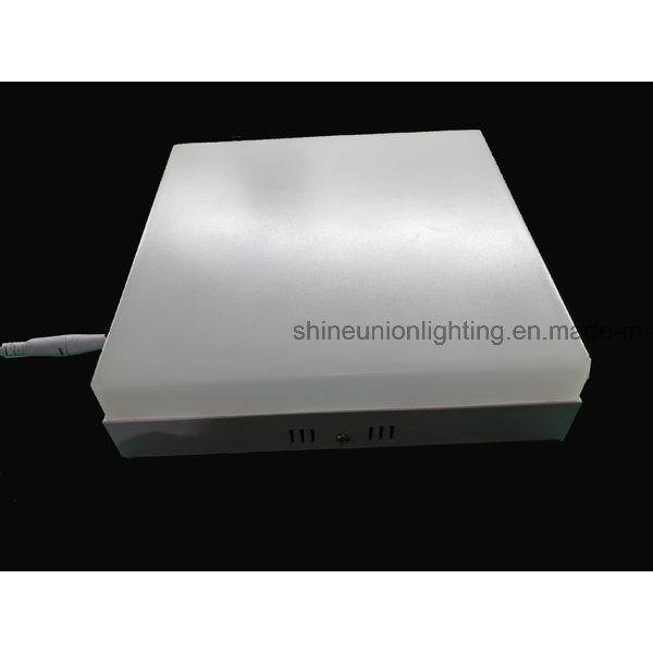 Square 12W Backlit LED Panel Light for Surface