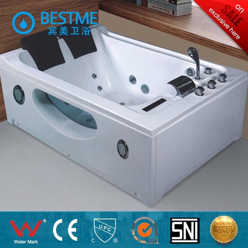 Luxury Two Person Freestanding Massage Bathtub (BT-A610)