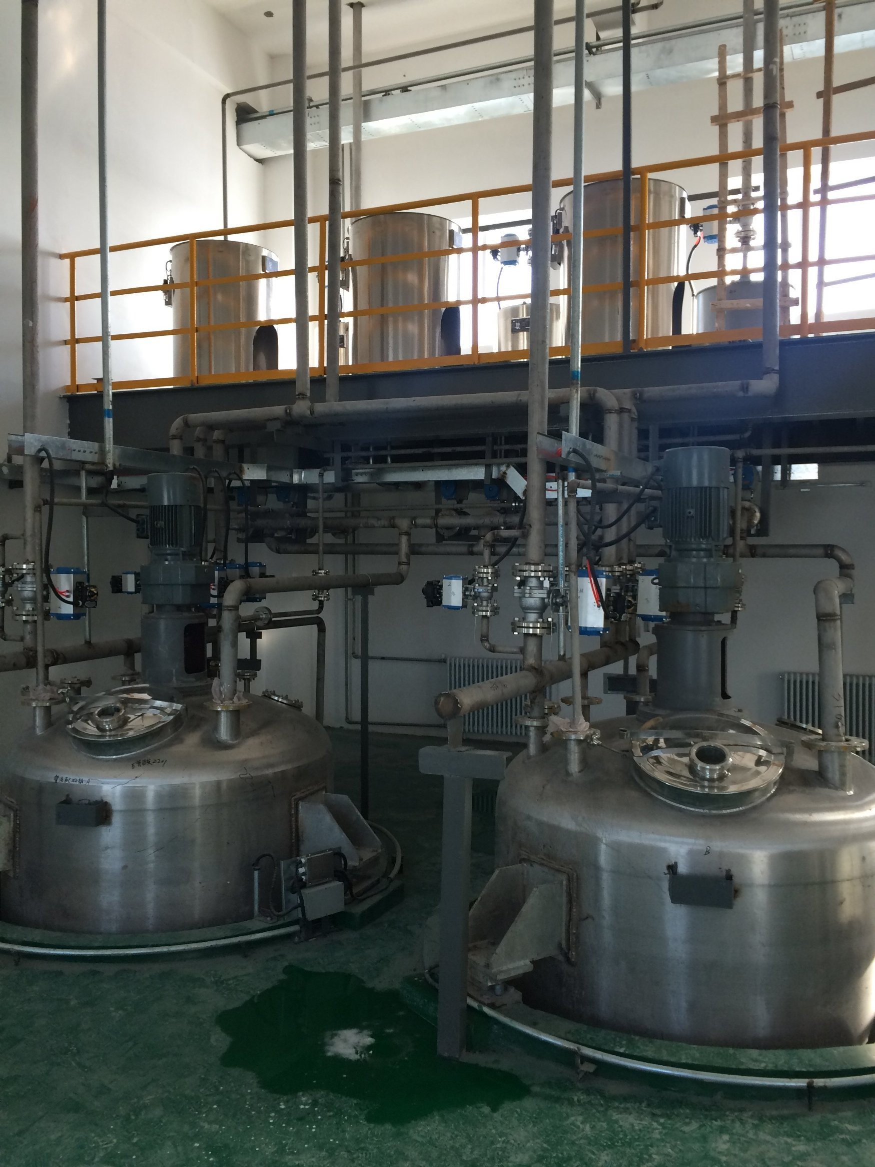 Good Quality Manufacturing Equipment of Liquid Detergent Plant