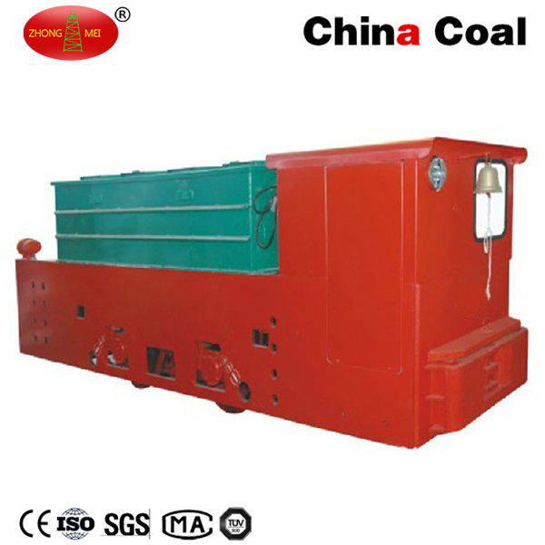 Cay12/7gp Narrow Gauge 12t Underground Coal Mining Battery Operated Tunnel Locomotive