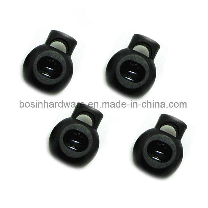 Round Ball Plastic Cord Lock Stopper