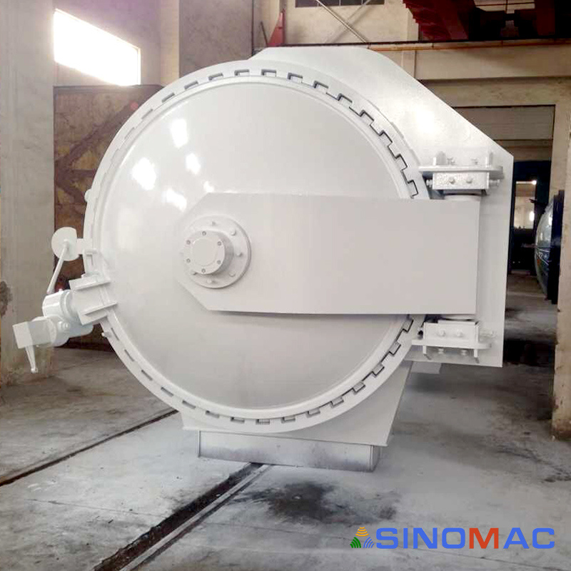 2500X6000mm CE Certified Electric Heating Carbon Fiber Autoclave (SN-CGF2560)