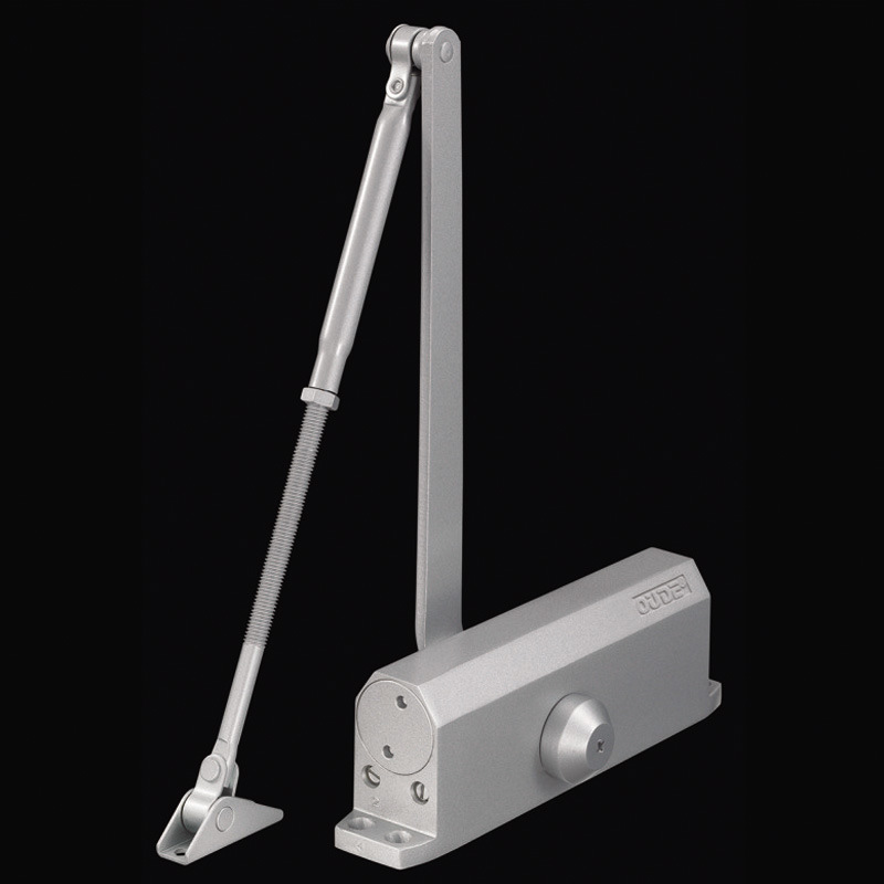 Heavy Duty Adjustable aluminium Door Closer 60-100kg Capacity