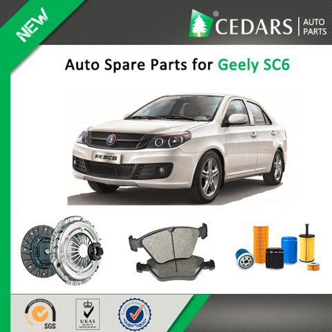 Chinese Auto Spare Parts for Geely Sc6