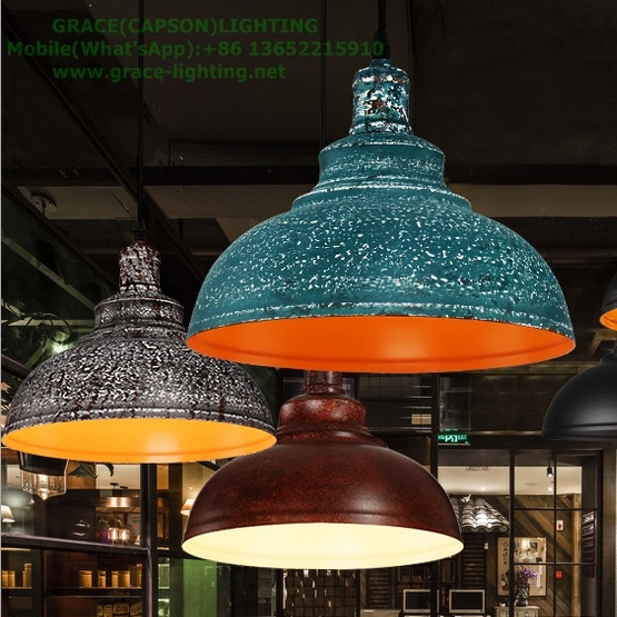 Nordic Retro Restaurant Decorative Pendant Lights Ce Certificate (GD-9062-1)