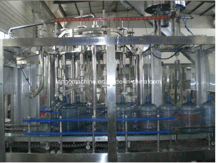 2000bph 1200bph 5gallon 20L Bucket Jar Barrel Drinking Water Filling Machine
