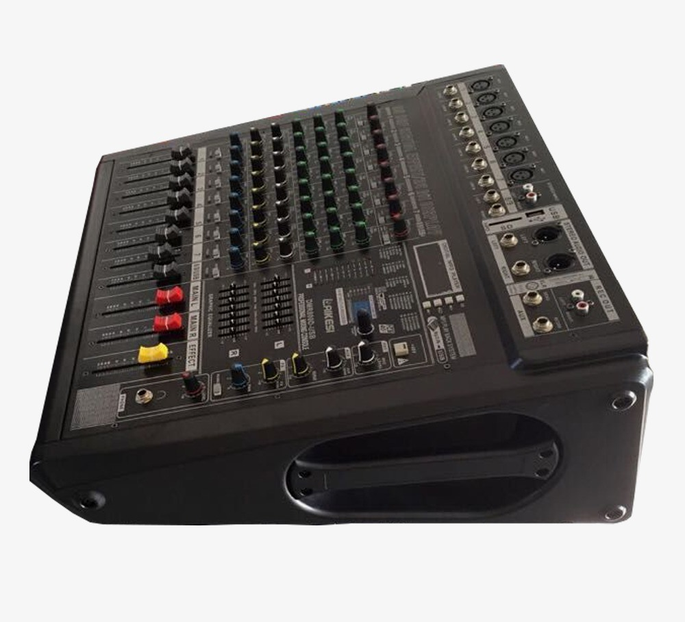 500W Dmr Series Sound Power Mixer with 99DSP Digital Effect