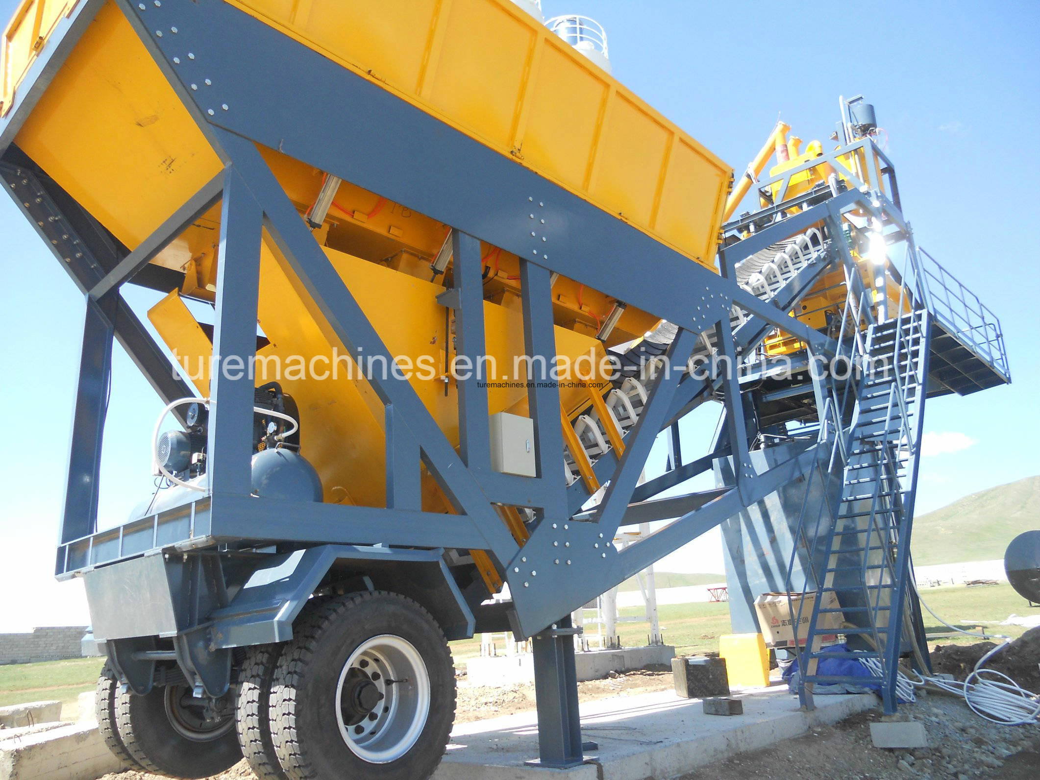 Brand New Batching Plant for Efficient Concrete Mixing Work
