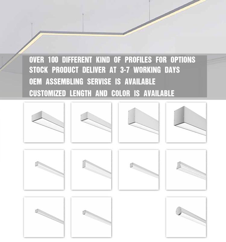 LED Aluminium Profile Linear Light for 2835 LED Strip