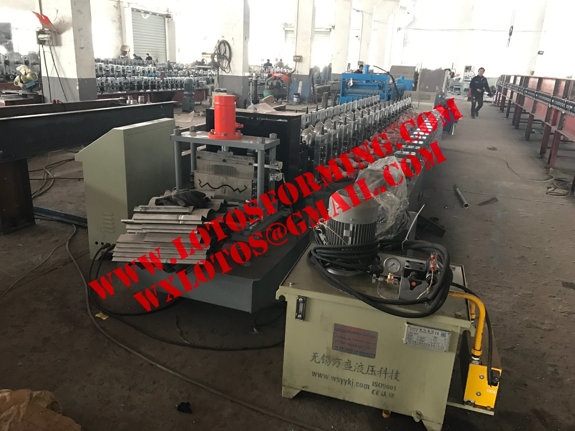 Bird Profile Roll Forming Machine Lts-410