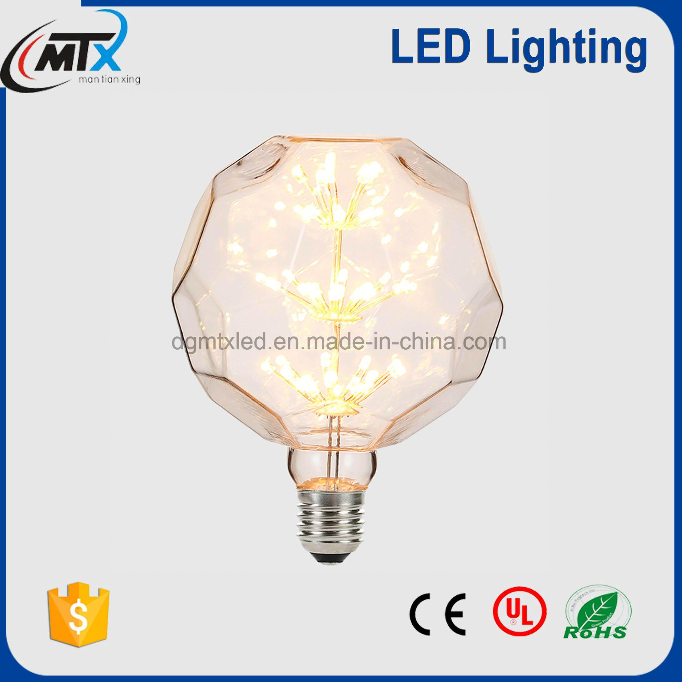 MTX-Football shape Decorative Vintage Retro LED Bulb Light 110V