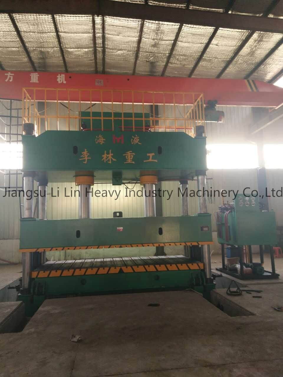 Four-Column Single-Movement Hydraulic Press for Sheet Metal Drawing Yll27-500t