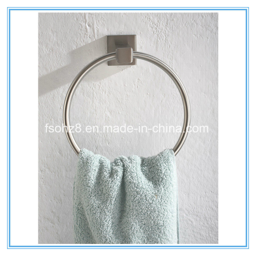 Simple Bathroom Accessory Stainless Steel Towel Ring (Ymt-2604)