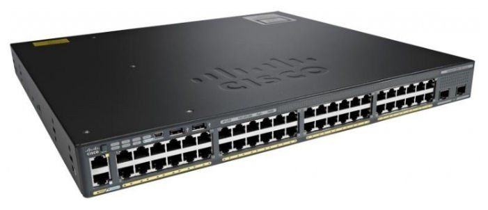 New Cisco 48 Ports Poe Gigabit Network Switch (WS-C2960XR-48FPS-I)