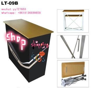 Folding Aluminum Promotion Counter