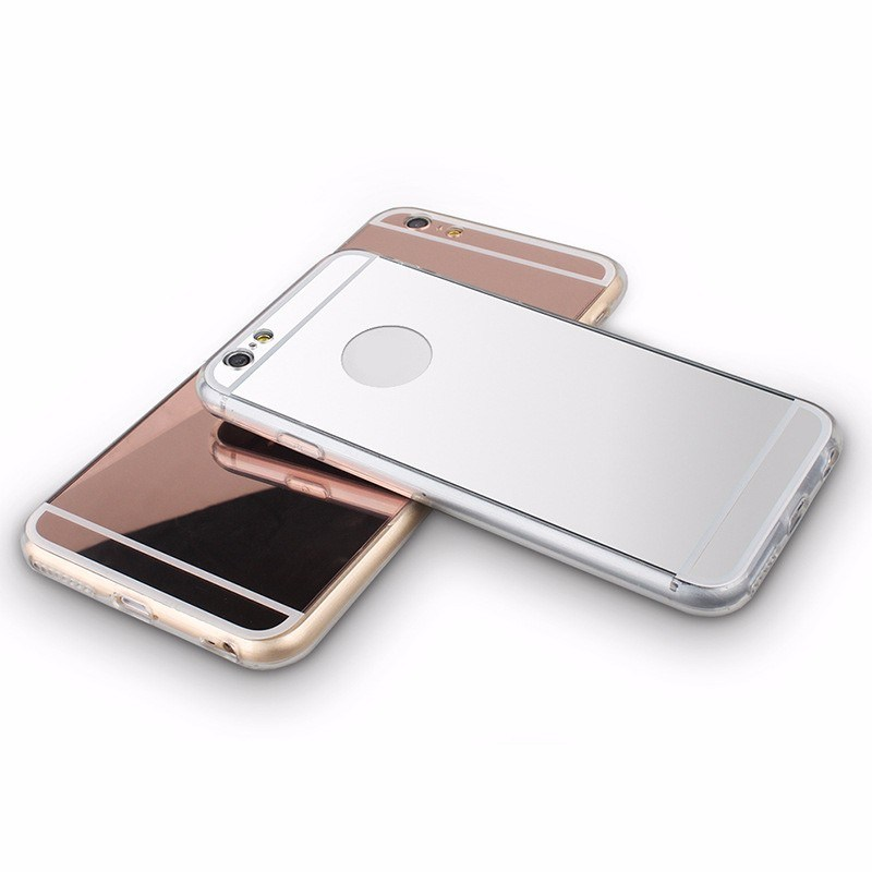 TPU Electroplating Mirro Cell Phone Case for iPhone 7