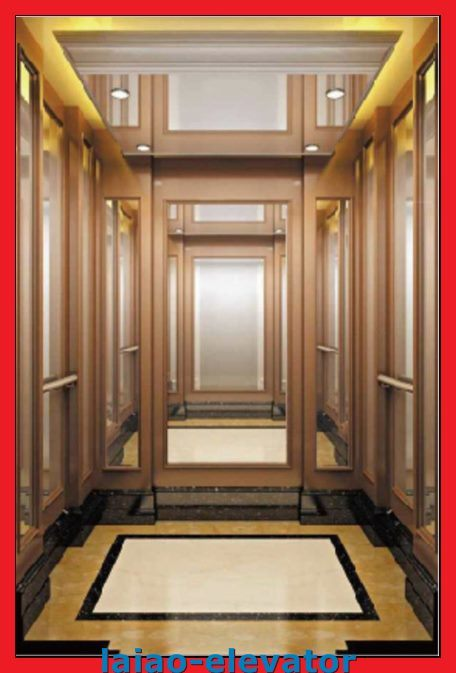 Hairline Stainless Steel 304 Model Passenger Lift